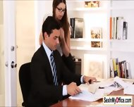 Busty Assistant Brooklyn Chase Loves To Suck Boss Cock - scene 3