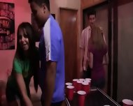 College Groupsex Sex At The Party - scene 3