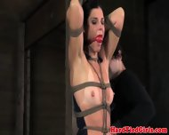 Crotch Rope Bondage Sluts Dress Cut Off - scene 12
