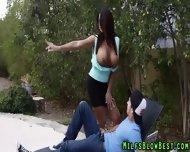 Tit Fucked Cougar Sucks - scene 2