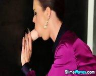 Euro Glam Whore Slammed - scene 5