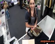 Busty College Girl Pawned Her Pussy N Nailed In The Pawnshop - scene 1
