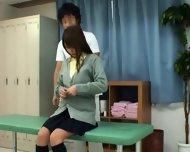 Schoolgirl Tricked By Schooldoctor - scene 3