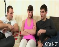 Interracial Threesome With Virgin - scene 6