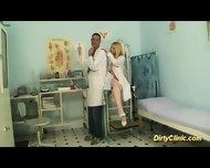Blonde Sexy Nurse Rides Cock - scene 6