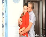 Naughty Fornication With Hot Couple - scene 2