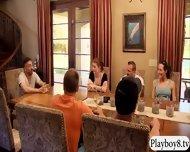 Horny Swingers Having Nasty Sex Games Inside Playboy Mansion - scene 12