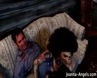 Goth Zombie Pornstar Bj - scene 8
