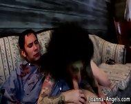Goth Zombie Pornstar Bj - scene 11