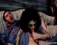 Goth Zombie Pornstar Bj - scene 12