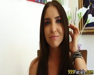 Pov Teen Babe Facialized - scene 3