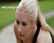Ultra Shocking Blonde In My Bedroom - scene 1
