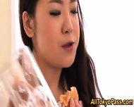 Busty Asian Lesbian Eaten - scene 3