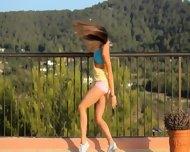 Killer Ass Stripping On The Balcony - scene 2