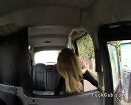 Huge Tits American Blonde Bangs In British Fake Taxi - scene 1