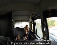 Huge Tits American Blonde Bangs In British Fake Taxi - scene 3