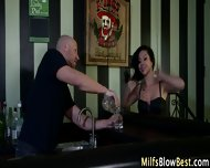 Asian Milf Blows Cock - scene 1