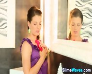 Euro Glam Babe Drenched - scene 1