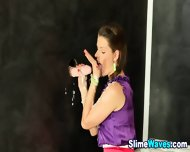 Euro Glam Babe Drenched - scene 6