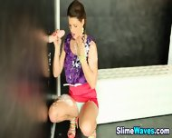 Euro Glam Babe Drenched - scene 7