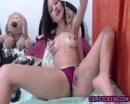 Perky Tit Teen Gf Live Web Cam - scene 5