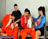 Bi Prisoner Spitroasted - scene 1