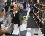 Blonde Milf Screwed Up At The Pawnshop For Some Cash - scene 1