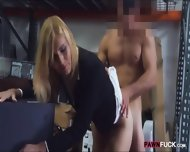Blonde Milf Screwed Up At The Pawnshop For Some Cash - scene 9