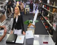 Blonde Milf Screwed Up At The Pawnshop For Some Cash - scene 2