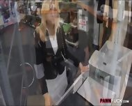 Blonde Milf Screwed Up At The Pawnshop For Some Cash - scene 3