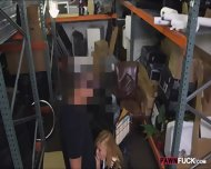 Blonde Milf Screwed Up At The Pawnshop For Some Cash - scene 4
