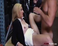 Blonde Milf Screwed Up At The Pawnshop For Some Cash - scene 5