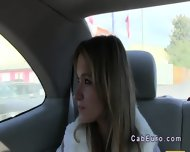 Czech Amateur Banging Outdoor By Fake Taxi Driver - scene 3