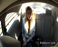 Czech Amateur Banging Outdoor By Fake Taxi Driver - scene 6