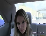Czech Amateur Banging Outdoor By Fake Taxi Driver - scene 7