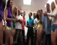 Group Of Horny Babysitters Fucking On College - scene 6