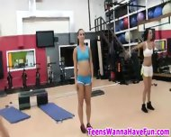 Nude Gym Party Teens - scene 2