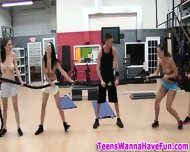 Nude Gym Party Teens - scene 6