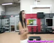 Nude Gym Party Teens - scene 7