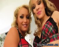 Fingered Lesbo Fists Cunt - scene 1