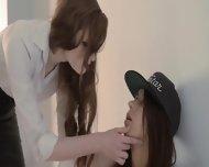 Redhear Lesbian Lover Banged Hard - scene 1