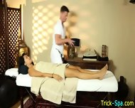 Asian Babe Spycam Massage - scene 2