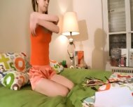 Nasty Homework Of Sweet Teenie - scene 5
