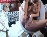 Webcam Girl Rubs Her Pussy - scene 8