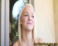 Blonde Teen Cock Sucker - scene 3