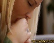 Blonde Teen Cock Sucker - scene 7