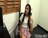 Willing Teen Accepts A Cock - scene 4