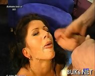 Savoring Ejected Warm Jizz - scene 8