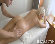 Nymph Mixes Massage And Sex Scene - scene 3