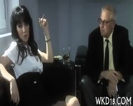 Rod Stuffs Mouth And Cunt - scene 4